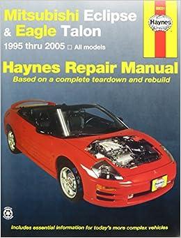 mitsubishi eclipse 2005 repair service manual