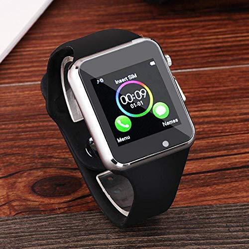 Amazon.com: MaadZmec Tech A1 Smart Watch (Black): Cell ...