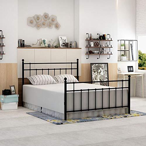 Dumee Metal Platform Bed Frame Full Size With Modern