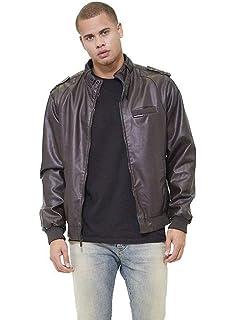 4bdea3c39 Members Only Men's Original Iconic Racer Jacket at Amazon Men's ...