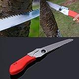 SimpleLife Portable Trimming Hand Saw Folding Fruit Tree Pruning Garden Yard Tool 130mm