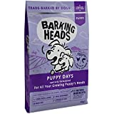 Barking Heads Dry Dog Food for Puppies - Puppy Days - 100% Natural Chicken and Salmon, Grain-Free with No Artificial Flavours, Good for Strong Teeth and Bones, 6 kg