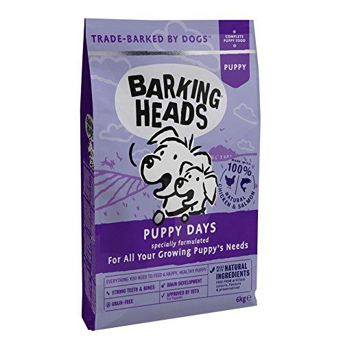 Barking Heads aboiements Têtes Chiot Jours Grain Gratuit de croquettes pour Chien, 6kg Pet Food UK Ltd BPY6