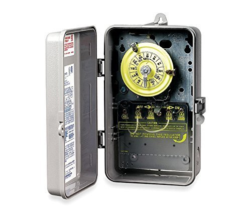 (Intermatic T104P Plastic Enclosure 208-277V DPST Multi Use Timer by Intermatic)