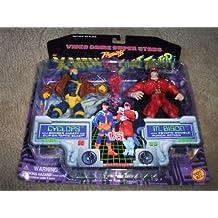 X-Men vs. Street Fighter Cyclops vs. M.Bison Figure Set