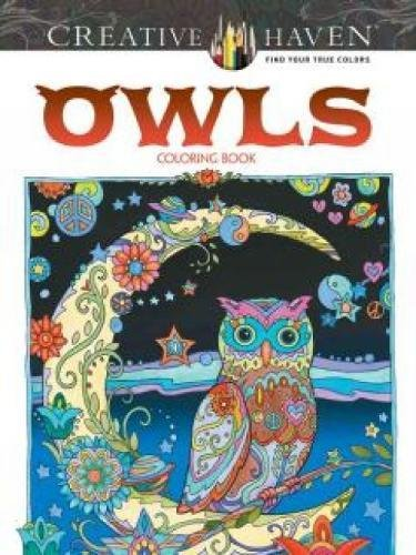 Creative Haven Owls Coloring Book Adult