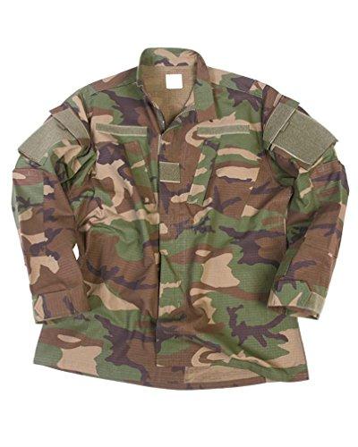 Mil-Tec US ACU Field Jacket Men Ripstop Woodland