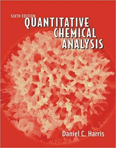 Quantitative Chemical Analysis Sixth Edition Daniel C Harris