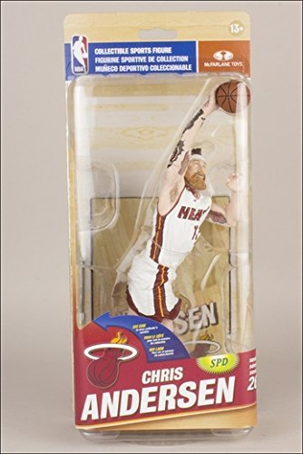 McFarlane Toys NBA Figure Series 26 / Chris Andersen Collector level 750 Limited Edition of / Miami Heat
