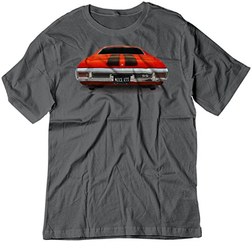 - BSW Men's Nice Ass 1970 Chevrolet Chevelle SS American Muscle Shirt 2XL Charcoal