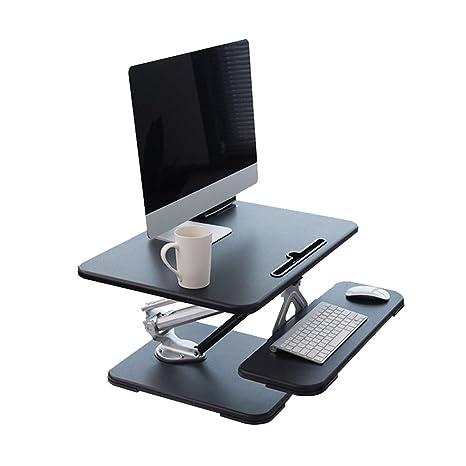 mesa plegable Chunlan Altura de la Mesa del Ordenador portátil Ajustable con Pantalla de la Bandeja