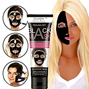 Blackhead Remover Mask, Blackhead Peel Off Mask, Face Mask, Blackhead Mask, Black Mask Deep Cleaning Facial Mask for Face Nose