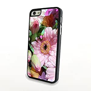 Generic Fresh Colorful Beautiful Flowers Matte Pattern PC Phone Cases fit for Charming Cute iPhone 5/5S Cases