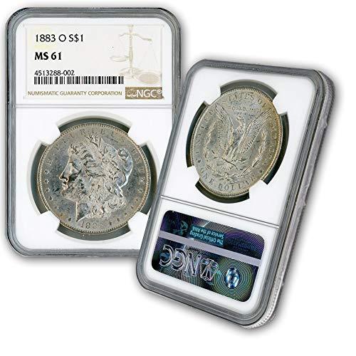 1883 O Morgan Silver Dollar $1 MS61 NGC ()