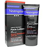 Cheap Neutrogena Men Triple Protect Face Lotion with Sunscreen SPF 20 1.70 oz (Pack of 3)