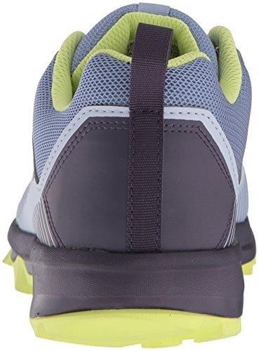 adidas outdoor Women's Terrex Tracerocker W Trail Running Shoe, Aero Blue/Trace Purple/Semi Frozen Yellow, 8 M US by adidas outdoor (Image #2)