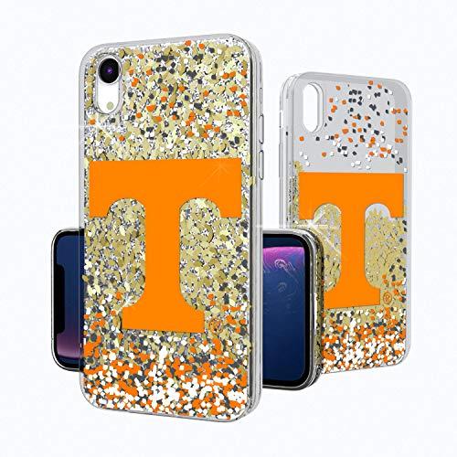 - Keyscaper KGLGXR-0TEN-FETTI1 Tennessee Volunteers iPhone XR Glitter Case with UT Confetti Design