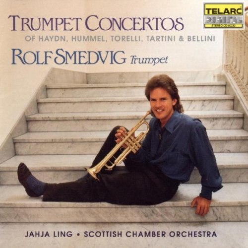 Trumpet Concertos of Haydn, Hummel, Torelli, and Bellini Rolf Smedvig Trumpet Cd's Trumpet Music Online