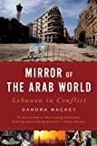 Front cover for the book Mirror of the Arab World: Lebanon in Conflict by Sandra Mackey