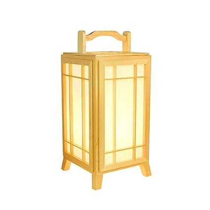 XSSDYMJ Lámpara de Pie, Lámpara de Mesa Coreana de Tatami ...