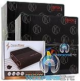 pkg (2 pcs.) 15-SRX10S4 - Memphis 10' 250W RMS 500W Max Street Reference Subwoofer + TRAX1.1200D - Precision Power Monoblock 1200W Class D Amplifier