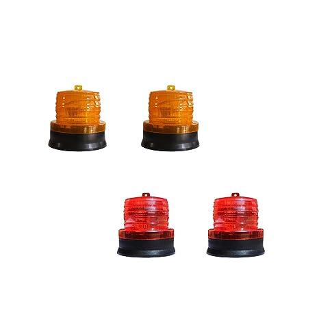 4pcs Fityle Security Alarm Led LightSolar Light Flash Strobe uK1F35TlJc