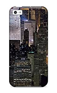 ApGOFPA146lGbcw Faddish Beautiful New York Midtown Skyline At Night United States Case Cover For Iphone 5c