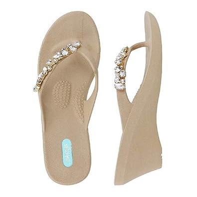 ea9419c34771 Oka-B Alexa Flip Flop Sandal by OkaB (Small   5.5-6.5 B