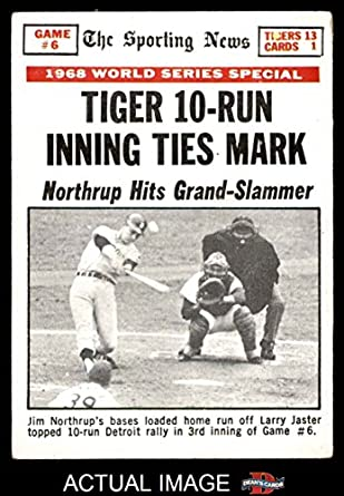 Image result for game 6 1968 world series images