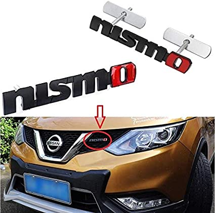 JDM Nismo Logo LED Light Car Front Grille Badge Illuminated Decal Sticker
