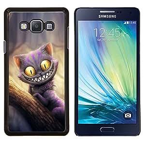 TECHCASE---Cubierta de la caja de protección para la piel dura ** Samsung Galaxy A7 ( A7000 ) ** --Gato Monster friendly