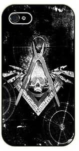 Diy For LG G3 Case Cover Masonic skull - black plastic hipster, tribal
