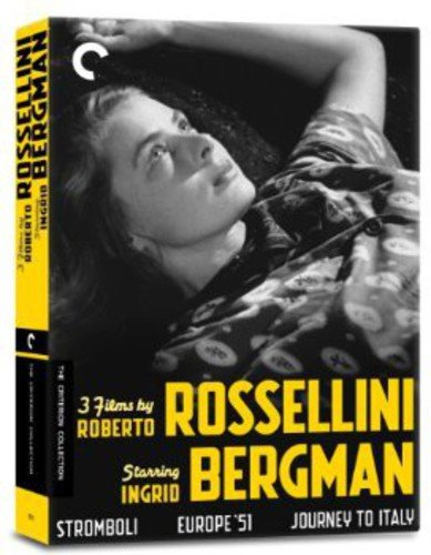 3 Films By Roberto Rossellini Starring Ingrid Bergman (Stromboli/Europe '51/Journey to Italy)(The Criterion Collection) -  DVD