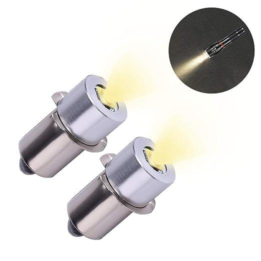 Bombilla LED de Alta Potencia para Linterna, Bombilla de Repuesto de Alta Potencia, Kit