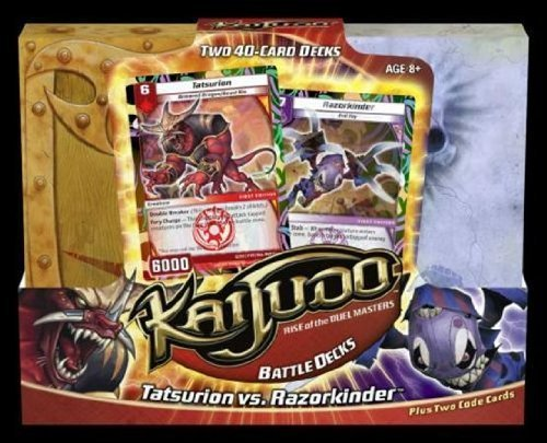 (Kaijudo: Rise of the Duel Masters TCG - Tatsurion vs. Razorkinder Battle Deck )