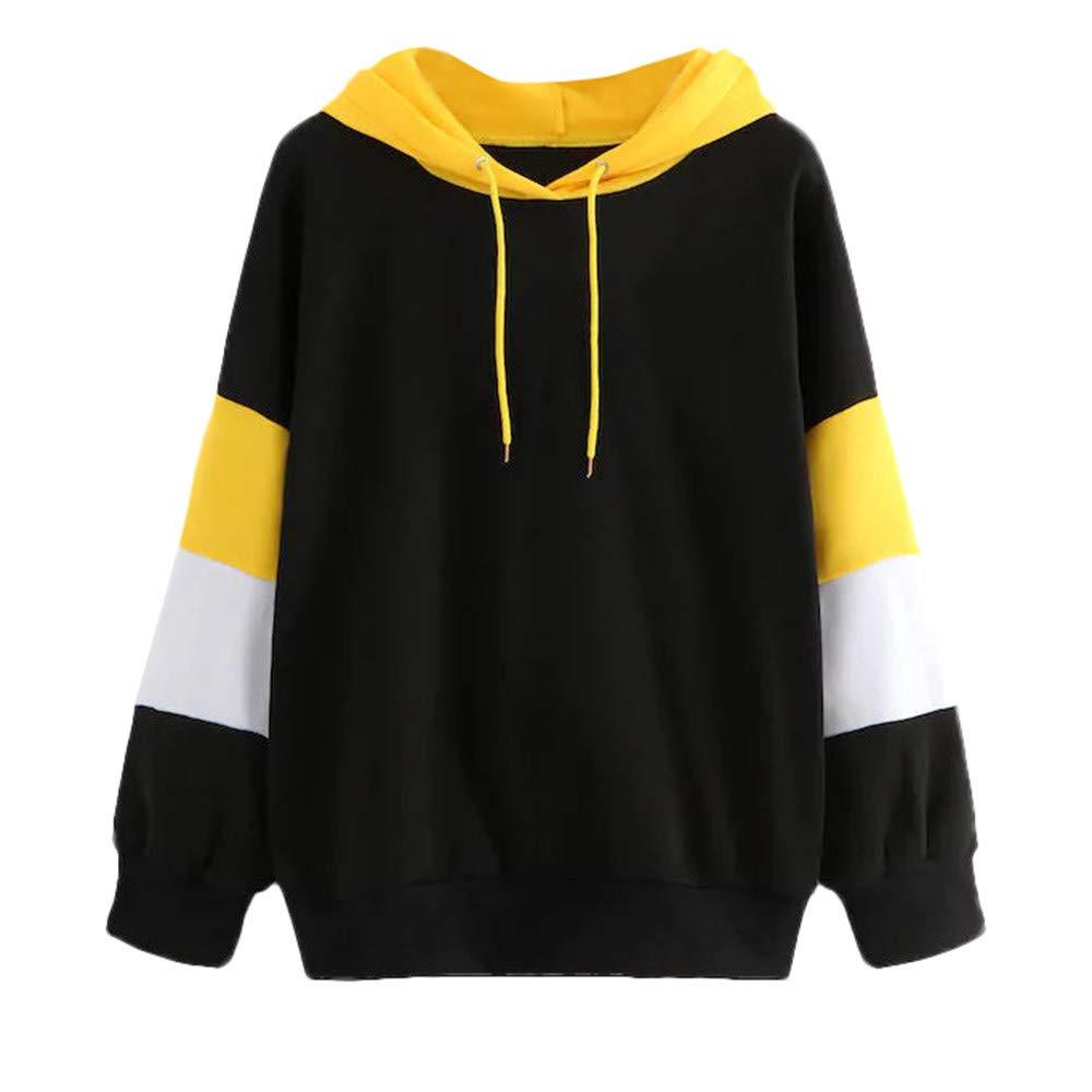 Hanomes Damen pullover, Damenmode Hoodie Plus SAMT Sweatshirt Bluse Pullover Tops mit Kapuze