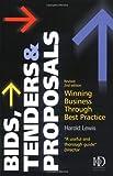 Bids, Tenders and Proposals, Harold Lewis, 074944973X