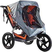 BOB WS1122 Sport Utility Stroller/Ironman Weathershield, Duallie (Grey)