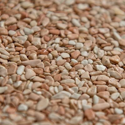 Bindemittel Terralith Marmor-Steinteppich 2-4 mm Rosa Corallo f/ür 1qm incl