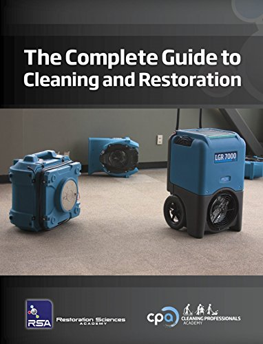 Drieaz T540 The Complete Guide to Cleaning and Restoration