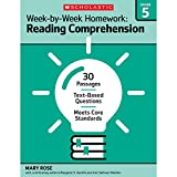 Week-by-Week Homework: Reading Comprehension Grade 5: 30 Passages • Text-based Questions • Meets Core Standards