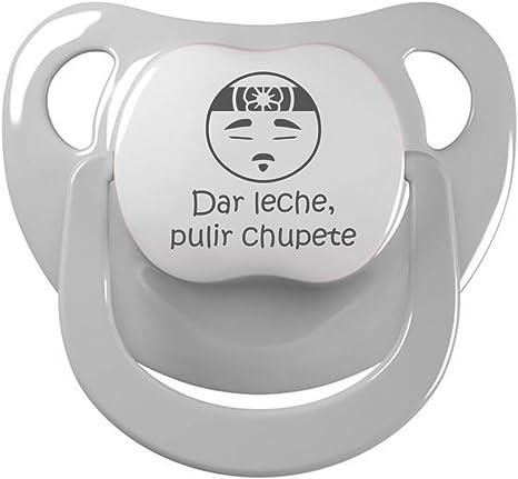 Chupete Dar leche, pulir chupete. Chupete friki, chupete bebé parodia El señor Miyagi - Karate Kid. (Gris, 0-6 meses): Amazon.es: Bebé