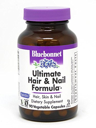 BlueBonnet Ultimate Hair and Nail Formula Supplement, 90 Count (Nails Formula)