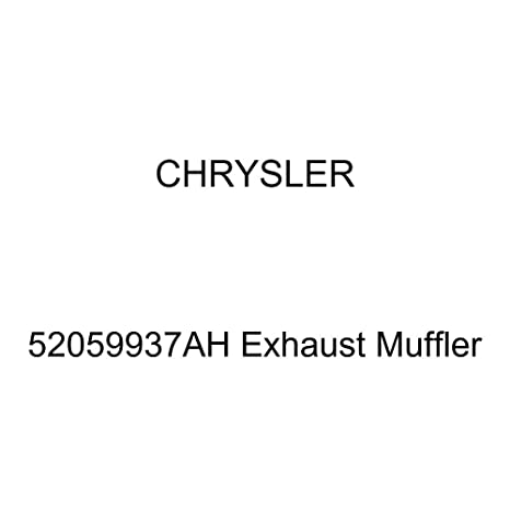 Genuine Chrysler 52059937AH Exhaust Muffler