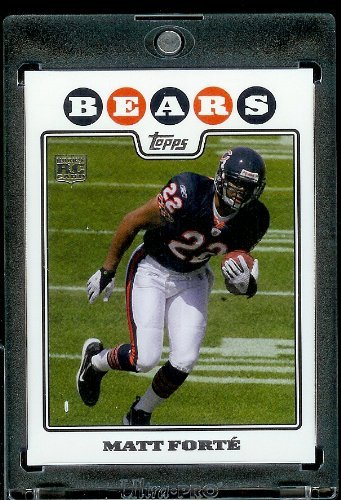 2008 Topps Football Rookie Card IN SCREWDOWN CASE #356 Matt Forte ENCASED