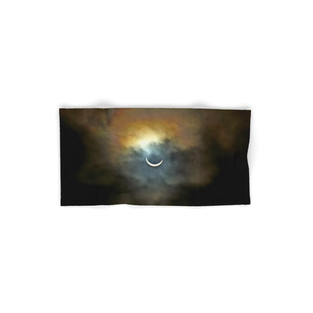 Society6 Solar Eclipse 2 Set of 4 (2 hand towels, 2 bath towels)