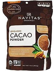 Navitas Naturals Organic Cacao Powder, 16-Ounce Pouches