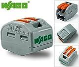 Wago 222-412 Lever-Nuts 2 Conductor (2 Way) Lever