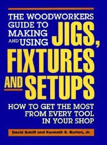 Woodworker's Guide to Making and Using Jigs, Fixtures, and Setups : How to Get