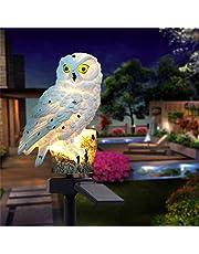 Outdoor Solar Lights Owl Shape Solar Powered LED Lamp Waterproof Garden Lights Stake Lights for Walkway